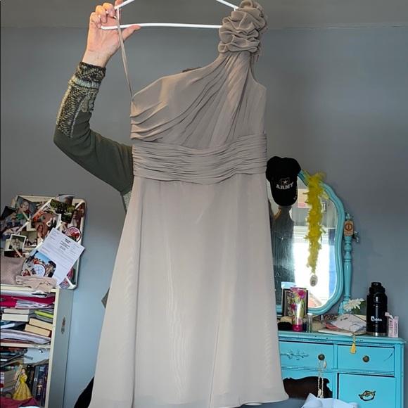 Allure Bridals Dresses & Skirts - Taupe Bridesmaids Dress